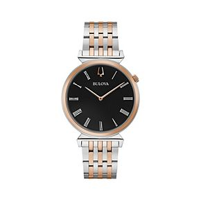 Bulova Men's Two-Tone Slim Stainless Steel Watch - 98A234