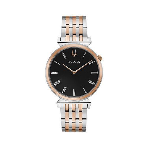 Bulova Men's Two-Tone Slim Stainless Steel Watch - 98A234