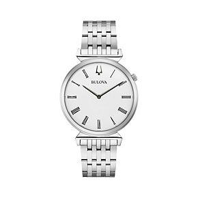 Bulova Men's Slim Regatta Stainless Steel Watch - 96A232