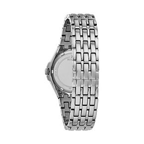 Bulova Women's Phantom Stainless Steel Crystal Baguette Watch - 96L278