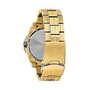 Bulova Men's Precisionist Diamond Accent Gold-Tone Stainless Steel Watch - 98D156