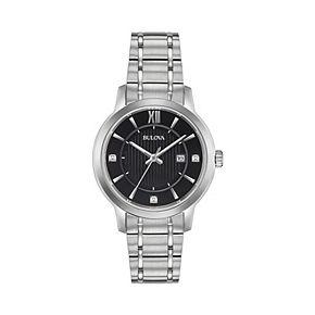 Bulova Women's Classic Diamond Accent Watch - 96P185