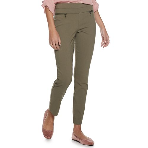 Juniors' Candie's® Plaid Millennium Pull On Pants