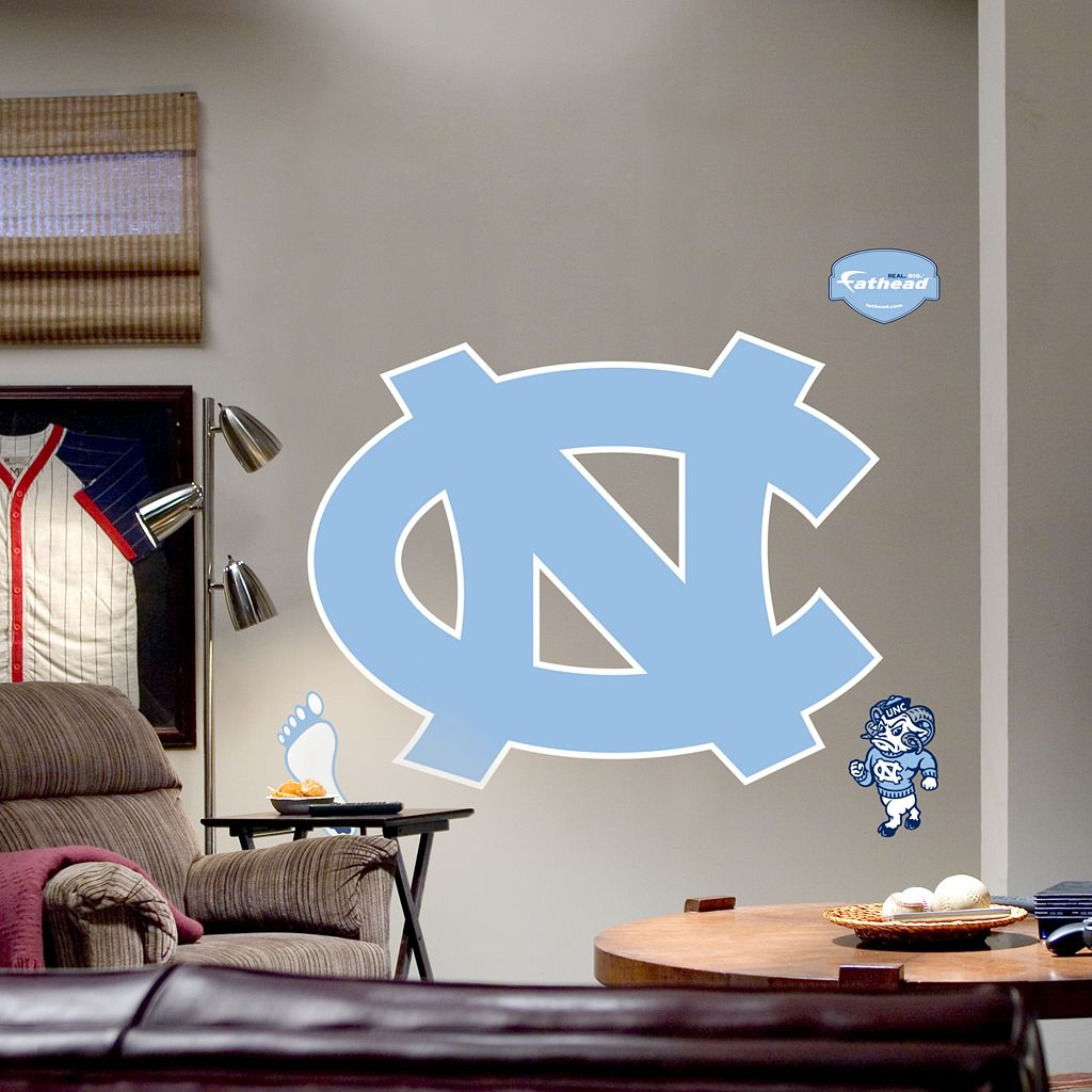 Fathead® University of North Carolina Tar Heels Logo Wall Decal
