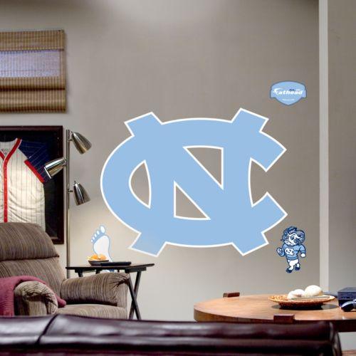 Fathead University of North Carolina Tar Heels Logo Wall Decal