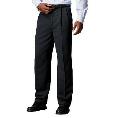 Croft and Barrow Microfiber Pleated Dress Pants