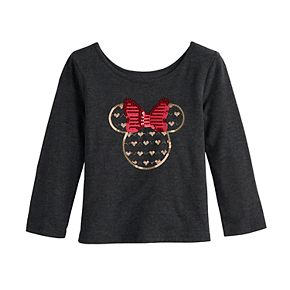 Disney's Minnie Mouse Toddler Girl Sequined Top by Jumping Beans®