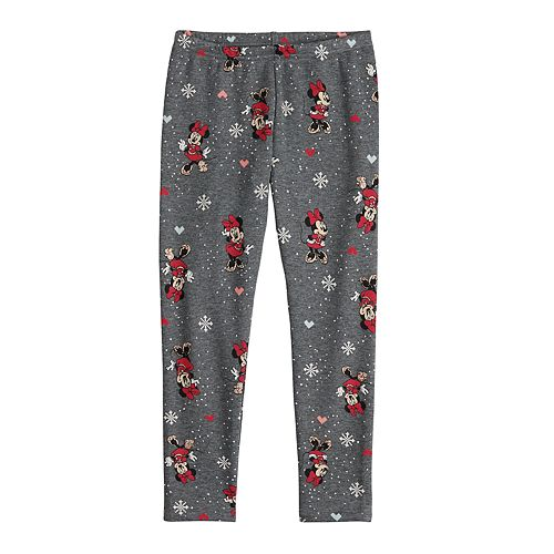 Disney's Minnie Mouse Girls 4-12 Holiday Minky Leggings by Jumping Beans®
