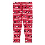 Disney's Minnie Mouse Toddler Girl Print Minky Leggings by Jumping Beans®