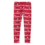 Disney's Minnie Mouse Girls 4-12 Print Minky Leggings by Jumping Beans®