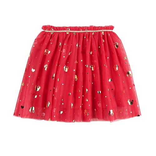 Disney's Minnie Mouse Girls 4-12 Foiled Tulle Tutu Skort Jumping Beans®