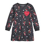 Disney's Minnie Mouse Girls 4-12 Print Fleece Dress by Jumping Beans®