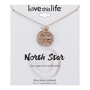 LovethisLife® Mother of Pearl Inlay Star Necklace