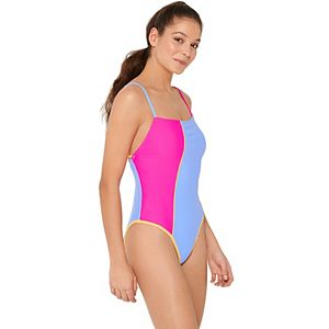 Colorblock One-Piece Swimsuit