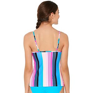 Mix and Match Striped Tankini Top