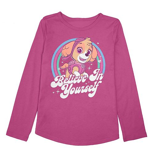 "Toddler Girl Jumping Beans® Paw Patrol Skye ""Believe In Yourself"" Graphic Top"