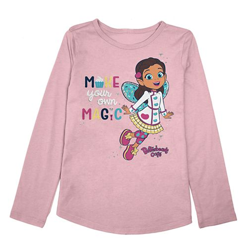 """Toddler Girl Jumping Beans® """"Make Your Own Magic"""" Butterbean's Cafe Graphic Top"""