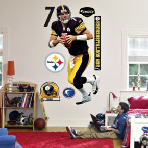 Fathead Pittsburgh Steelers Ben Roethlisberger Wall Decal