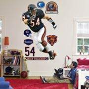 Fathead Chicago Bears Brian Urlacher Wall Decal