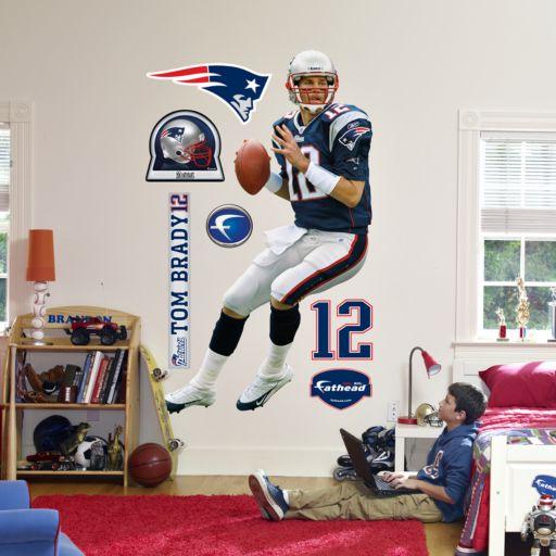 Fathead New England Patriots Tom Brady Wall Decal