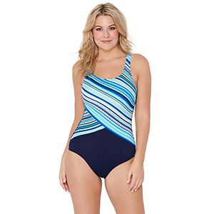 Women's Croft & Barrow One-Piece Swimsuit