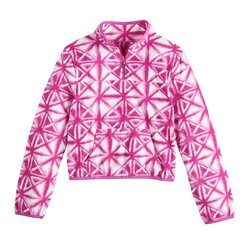 Girls 4-20 SO® Micro Fleece 1/4 Zip Sweatshirt