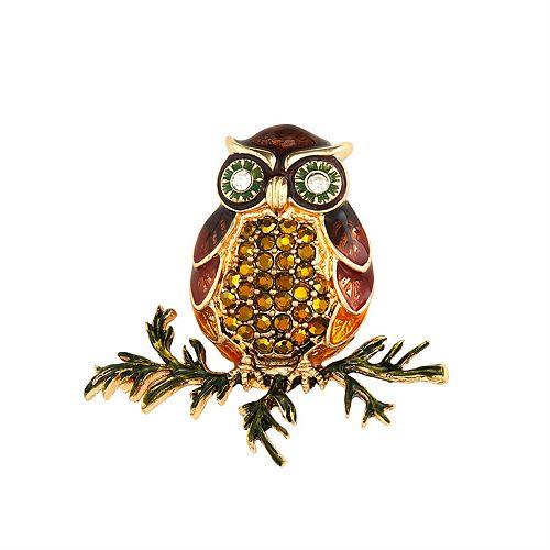 Napier Owl Branch Pin