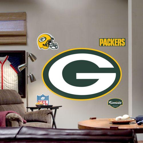 Fathead Green Bay Packers Logo Wall Decal