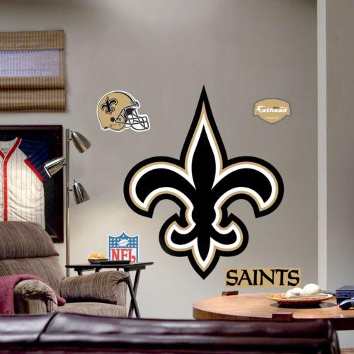 Fathead New Orleans Saints Logo Wall Decal
