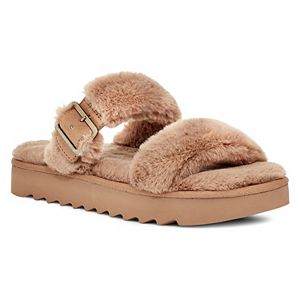 Koolaburra by UGG Furr-ah Women's Faux-Fur Sandals