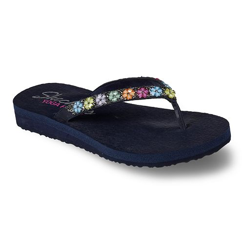 Skechers Skechers Little Girls' Meditation Thong Flip Flop