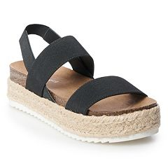 Black Platform Sandals: Shop for Shoes You can Wear for Any Occasion |  Kohl's