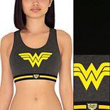 Wonder Woman 2-Pack Cotton Blend Sports Bra