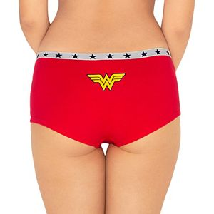 Wonder Woman 3-Pack Hipster Panty WB110K