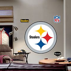 Fathead® Pittsburgh Steelers Logo Wall Decal