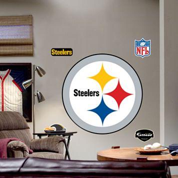 Fathead® Pittsburgh Steelers Logo Wall Decal