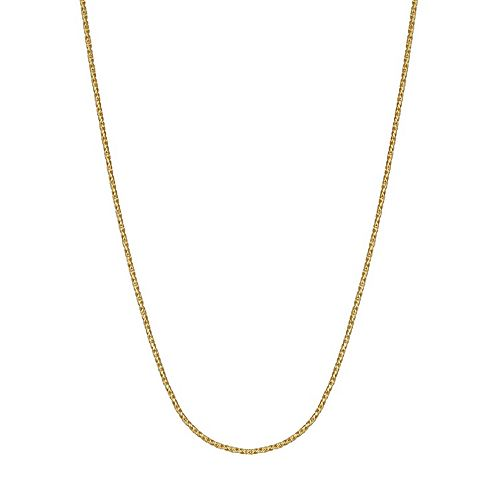 PRIMROSE 18k Gold over Sterling Silver Chain Necklace