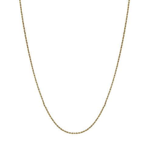PRIMROSE 18k Gold over Sterling Silver Rope Chain Necklace