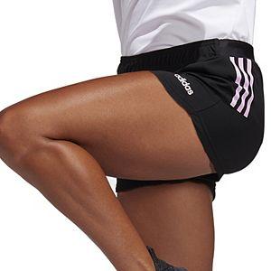 Women's adidas 3-Stripe D2M Knit Shorts