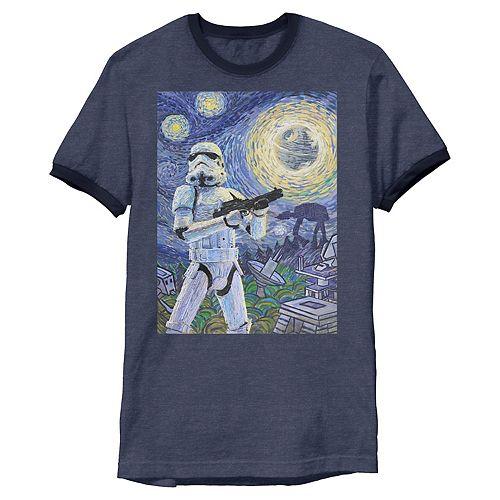 Men's Star Wars Stormtrooper Starry Night Tee