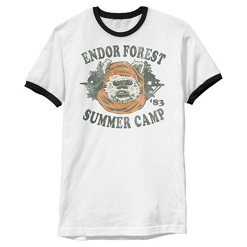 Men's Star Wars Endor Summer Camp Tee