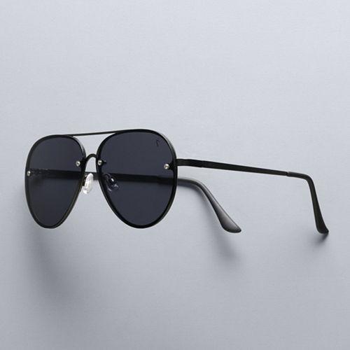 Women's Simply Vera Vera Wang 62mm Gio Aviator Sunglasses