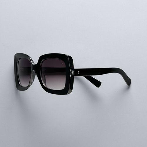 Women's Simply Vera Vera Wang 53mm Kym Oversized Square Sunglasses