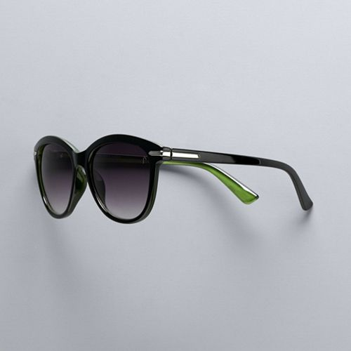 Women's Simply Vera Vera Wang 53mm Millie Wayfarer Sunglasses