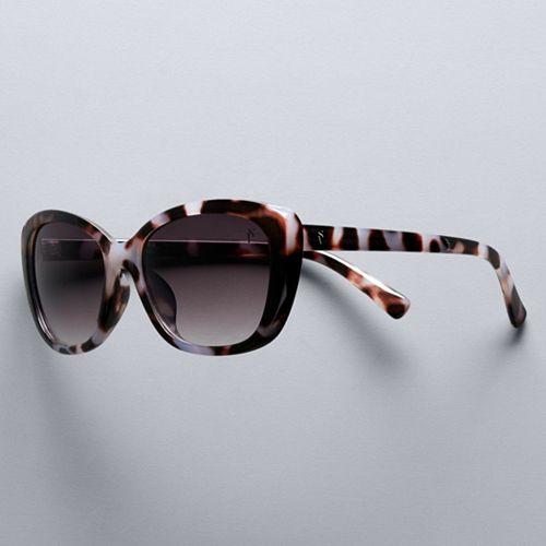 Women's Simply Vera Vera Wang 56mm Rubee Cat Eye Sunglasses