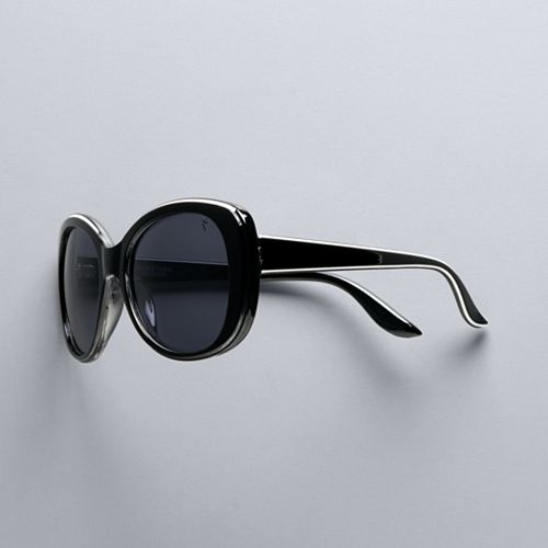 Women's Simply Vera Vera Wang 55mm Sonja Large Square Sunglasses