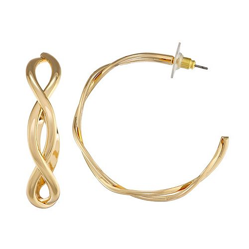 Napier Twist C-hoop Earrings