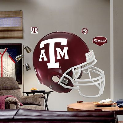 Fathead Texas AandM University Aggies Helmet Wall Decal