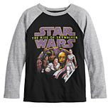 Boys 4-12 Jumping Beans® Star Wars Raglan Graphic Tee