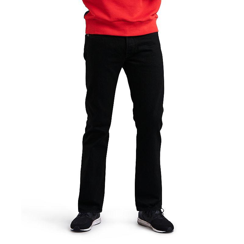 Men's Levi's® 501™ Original Fit Jeans, Size: 33X29, Black